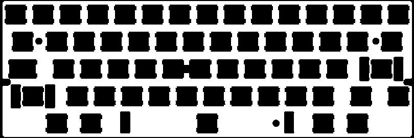 Keyboard ANSI 60