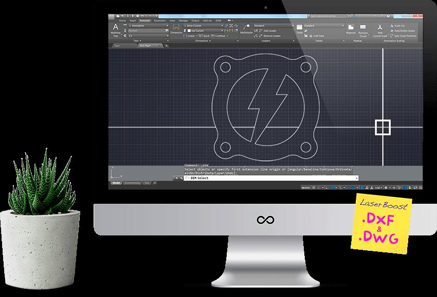 configurador para diseñar con diferentes formatos