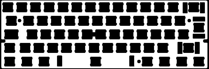Keyboard ISO 60