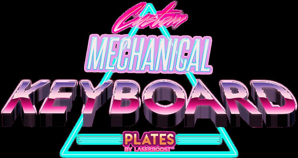 mechanical Keyboards laser cut