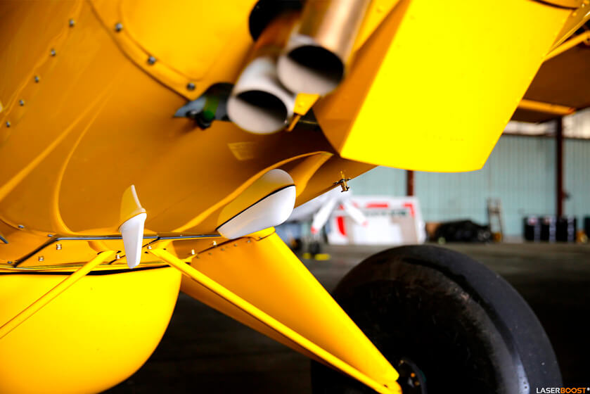 Prototipo de difusor de aire para pequeñas aeronaves - RitzCoAir, Australia