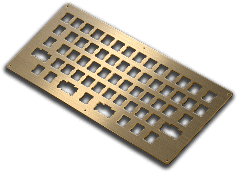 brass brushed