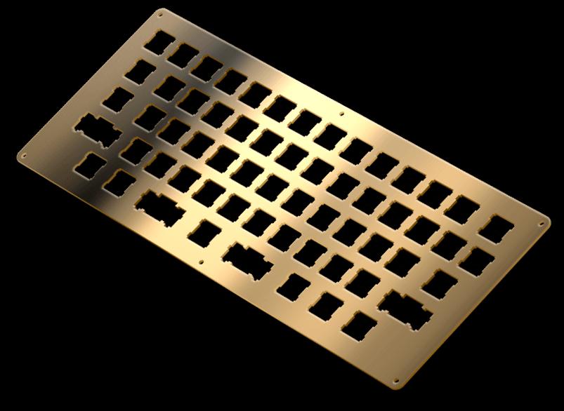 brass shiny