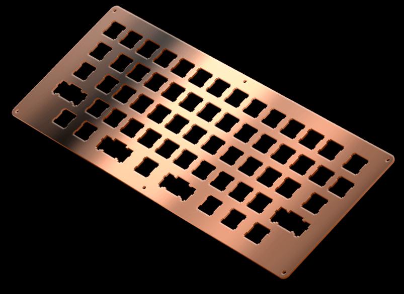 copper shiny